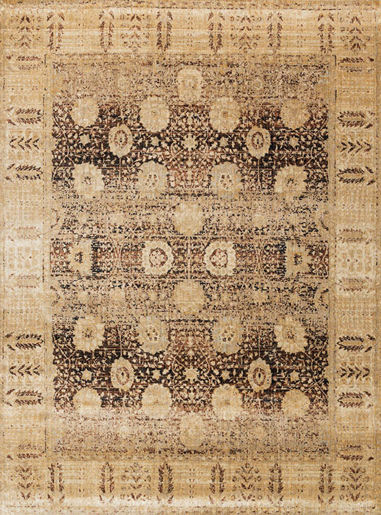 Loloi Anastasia AF-09 Coffee/Gold Area Rug