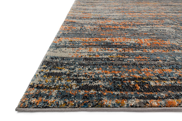 Loloi Dreamscape Dm 12 Slate Orange Area Rug Carpetmart Com