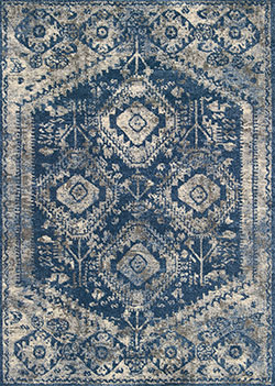 Loloi Emory EB-13 Blue/Pebble Area Rug