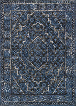 Loloi Emory EB-15 Denim/Grey Area Rug