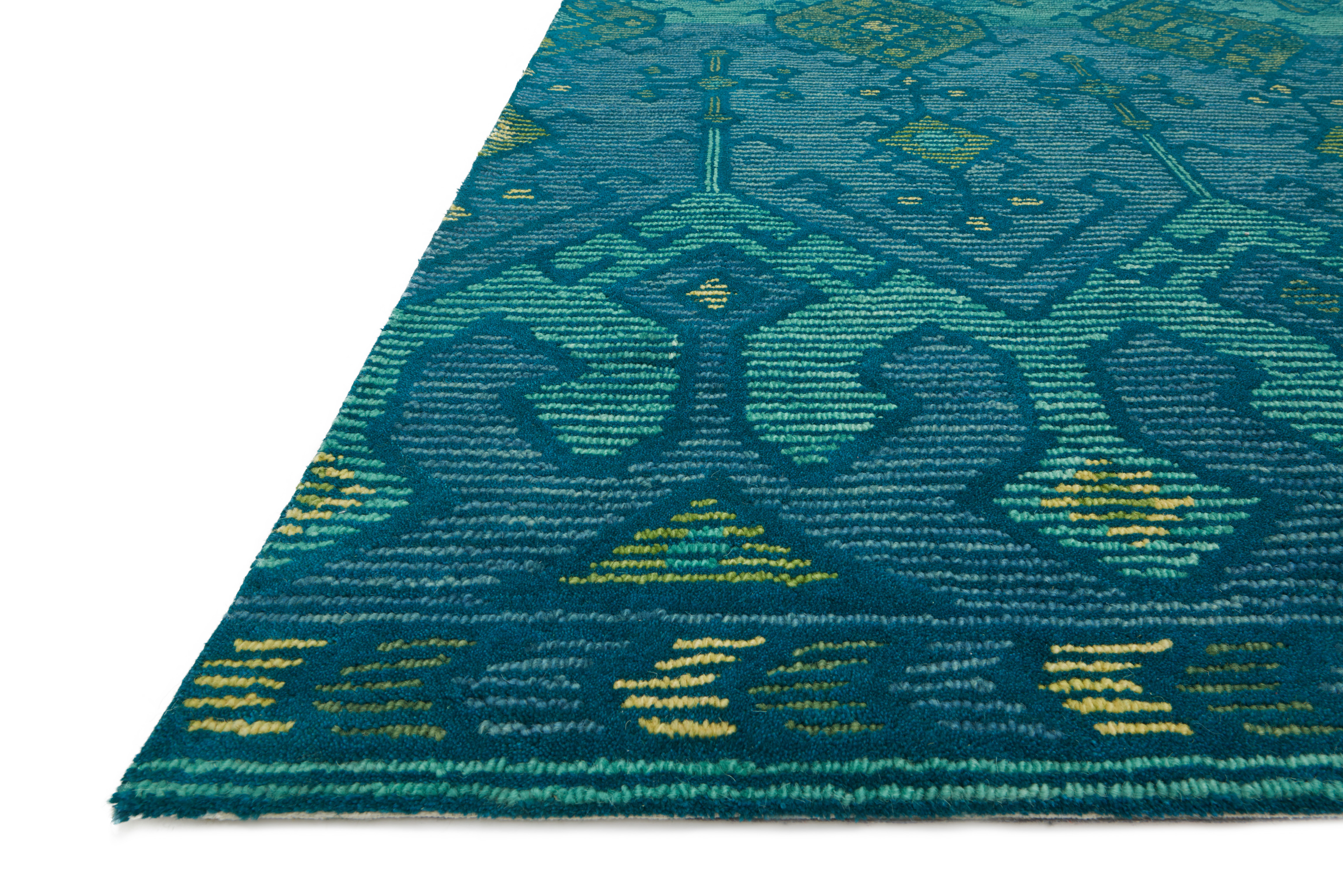 Loloi Gemology Gq 02 Green Teal Area Rug Carpetmart Com