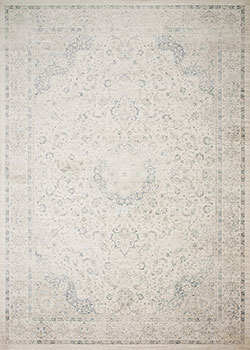 Loloi Griffin GF-03 Ivory/Blue Area Rug
