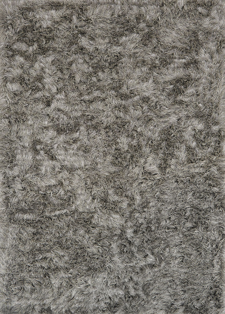 Loloi London Shag Lj 01 Silver Area Rug Carpetmart Com