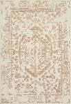 Annie ANN-01 White Rust Area Rug - Magnolia Home by Joanna Gaines