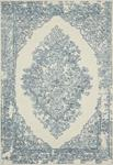 Annie ANN-02 White Blue Area Rug - Magnolia Home by Joanna Gaines