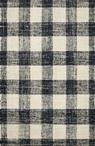 Crew CRE-02 Black/Natural Area Rug - Magnolia Home by Joanna Gaines
