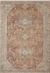 Deven DEV-08 Spice/Sky Area Rug - Magnolia Home by Joanna Gaines