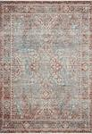 Elise ELI-04 Sky Red Area Rug - Magnolia Home by Joanna Gaines