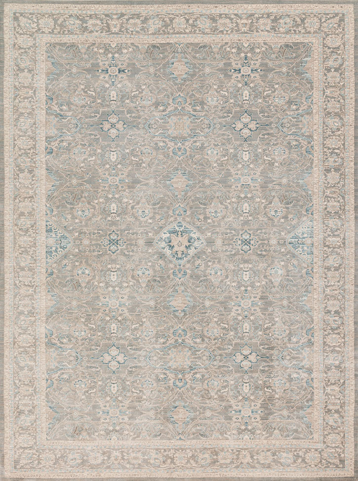 Ella Rose Ej 04 Steel Steel Area Rug Magnolia Home By