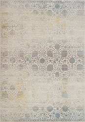 Ella Rose EJ-09 Bone/Mist Area Rug - Magnolia Home By Joanna Gaines