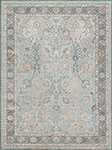 Ella Rose EJ-01 Lt. Blue Dark Blue Area Rug - Magnolia Home by Joanna Gaines