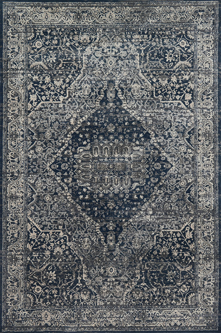 Everly Vy 02 Grey Midnight Area Rug Magnolia Home By
