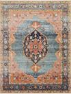 Graham GRA-02 Blue/Sunrise Area Rug - Magnolia Home by Joanna Gaines