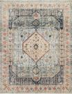 Graham GRA-03 Blue/Antique Ivory Area Rug - Magnolia Home by Joanna Gaines