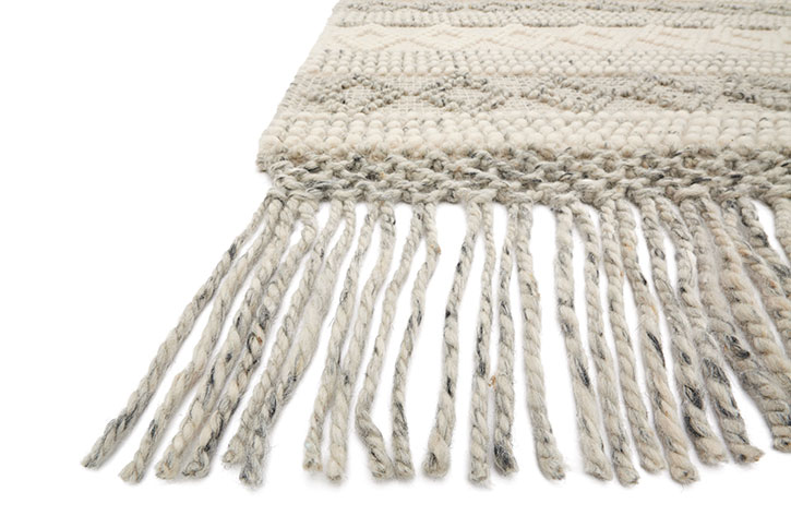 Holloway Yh 01 Grey Ivory Area Rug Magnolia Home By