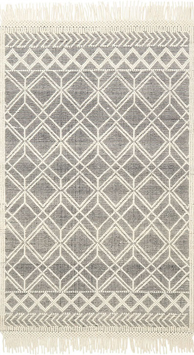 Holloway Yh 04 Black Ivory Area Rug Magnolia Home By