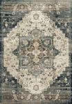 James JAE-05 Taupe/Marine Area Rug - Magnolia Home by Joanna Gaines
