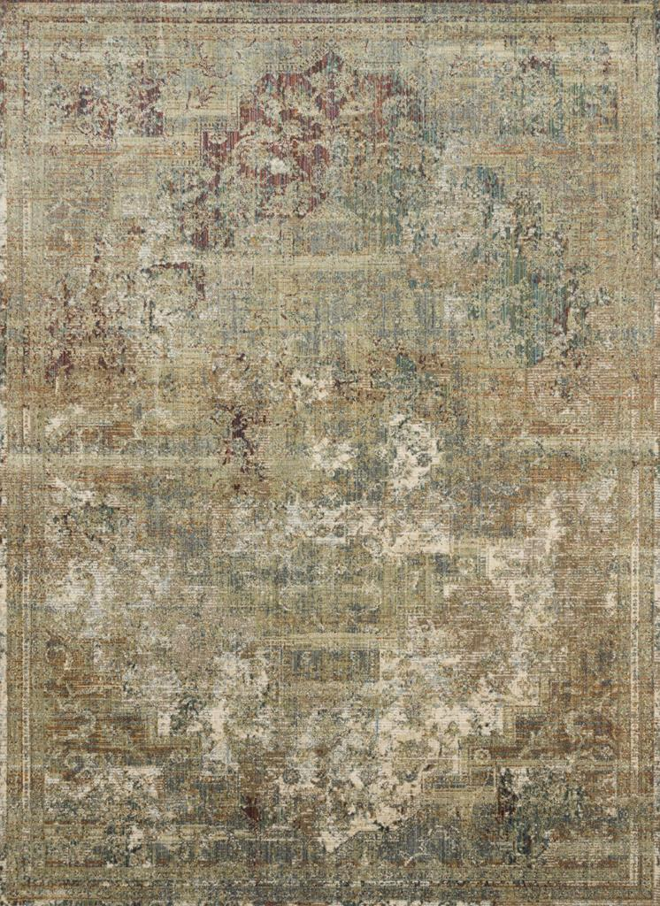 Linnea Lin 06 Multi Ivory Area Rug Magnolia Home By
