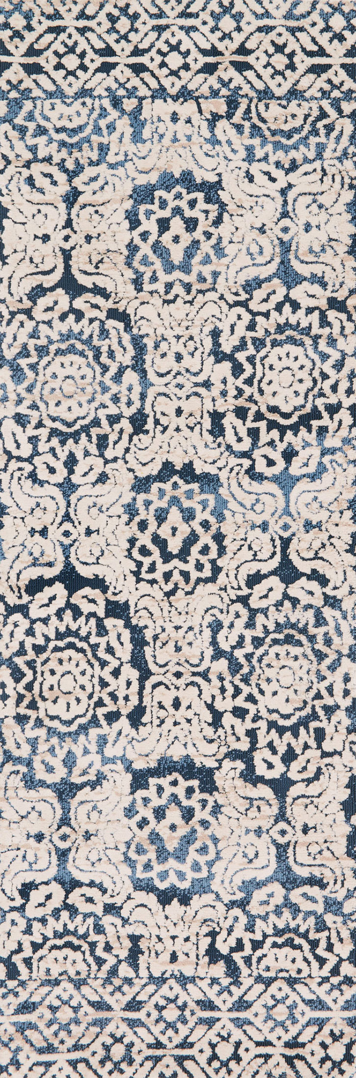 Lotus Lb 06 Blue Ant Ivory Area Rug Magnolia Home By