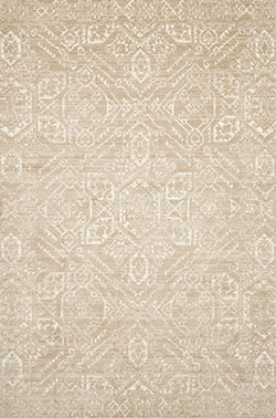 Lotus LB-10 Sand/Ivory Area Rug - Magnolia Home by Joanna Gaines