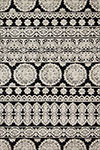 Lotus LB-01 Black Silver Area Rug - Magnolia Home by Joanna Gaines