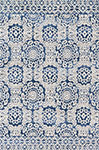 Lotus LB-06 Blue Ant. Ivory Area Rug - Magnolia Home by Joanna Gaines