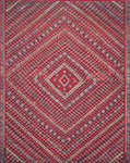 Lucca LF-05 Red Multi Area Rug - Magnolia Home by Joanna Gaines