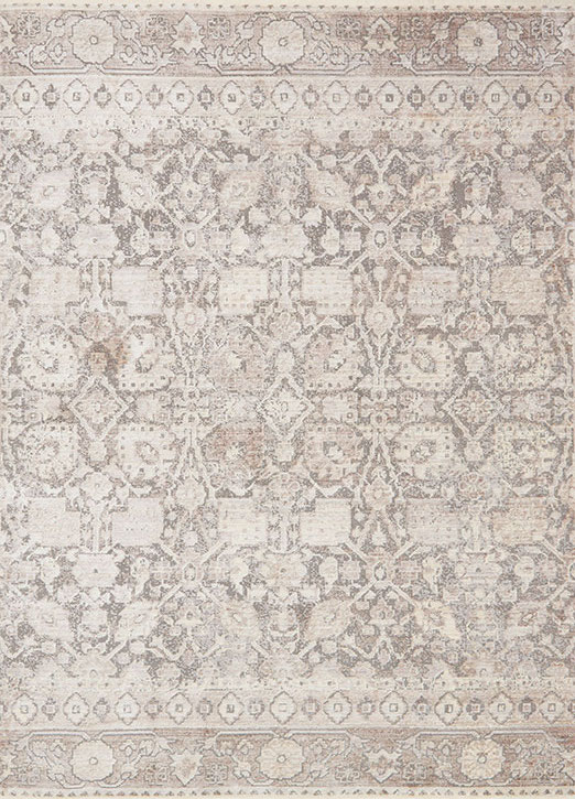 Ophelia Oe 02 Grey Taupe Area Rug Magnolia Home By