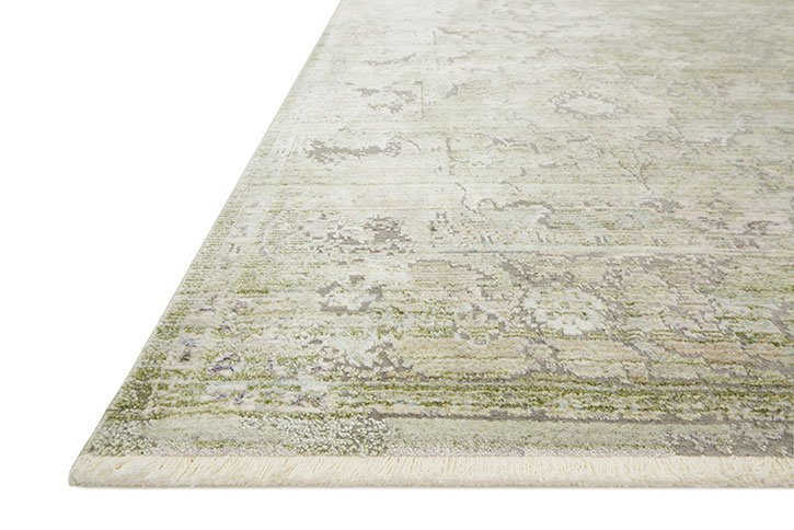 Ophelia Oe 03 Pistachio Grey Area Rug Magnolia Home By