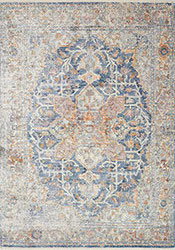 Ophelia OE-04 Blue/Multi Area Rug - Magnolia Home By Joanna Gaines