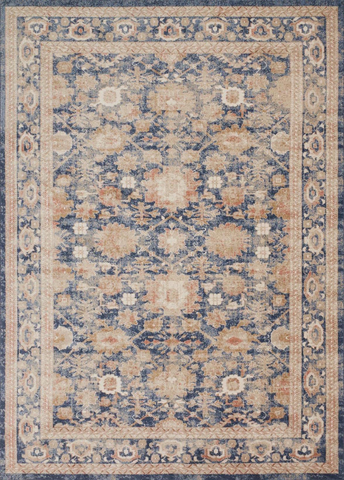 Trinity Ty 03 Navy Area Rug Magnolia Home By Joanna Gaines