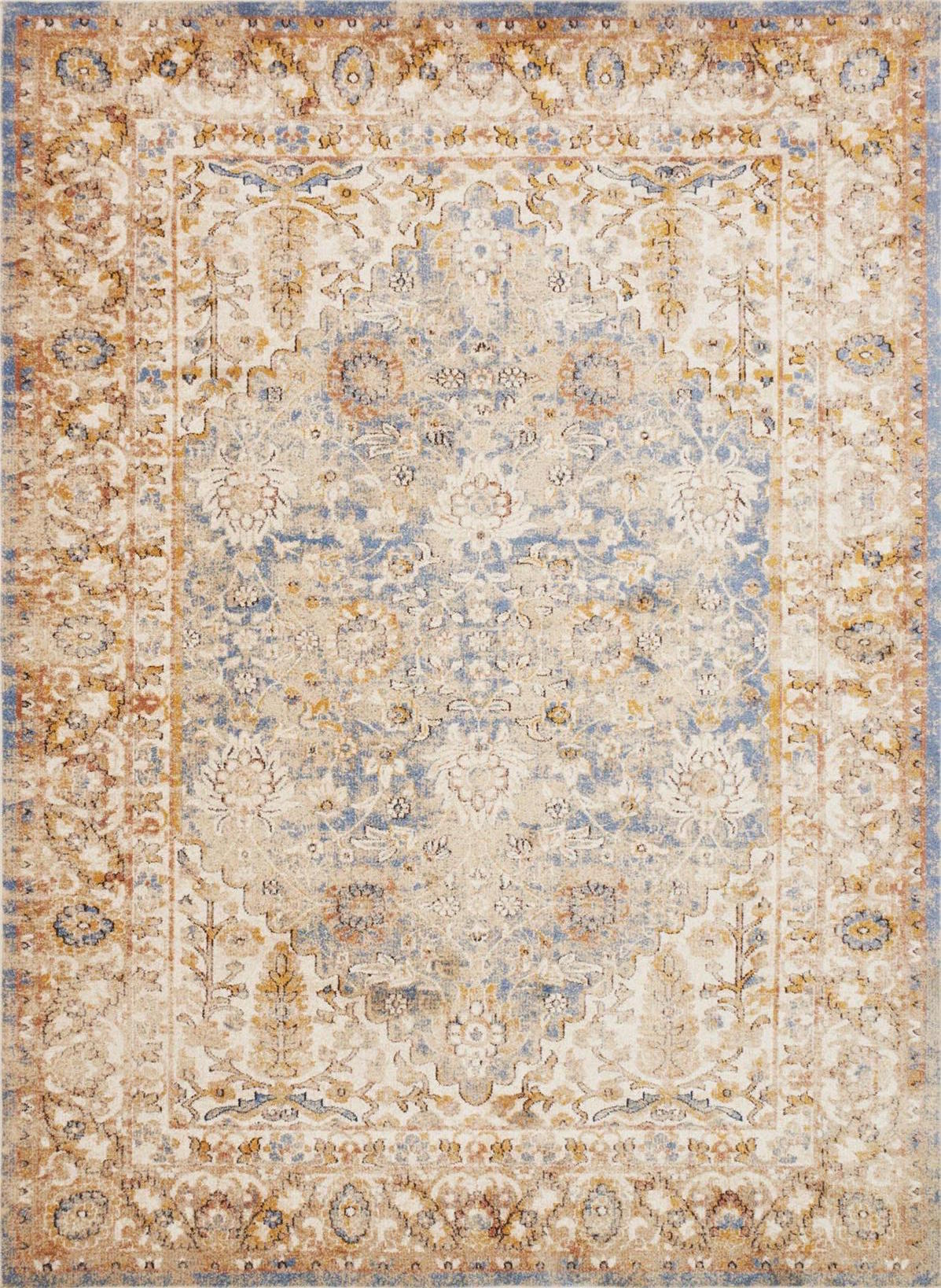 Trinity Ty 05 Blue Multi Area Rug Magnolia Home By