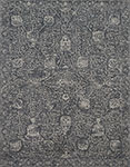 Tristin RT-01 Charcoal Charcoal Area Rug - Magnolia Home by Joanna Gaines