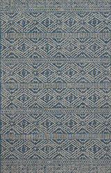 Warwick WK-01 Azure/Silver Area Rug - Magnolia Home By Joanna Gaines