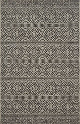 Warwick WK-01 Silver/Black Area Rug - Magnolia Home By Joanna Gaines