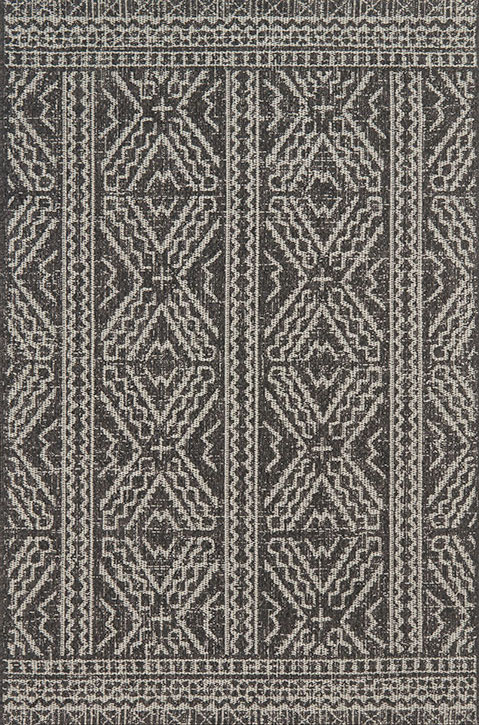 Warwick Wk 02 Black Silver Area Rug Magnolia Home By