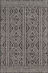 Warwick WK-02 Black/Silver Area Rug - Magnolia Home By Joanna Gaines