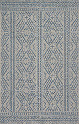 Warwick WK-02 Silver/Azure Area Rug - Magnolia Home By Joanna Gaines