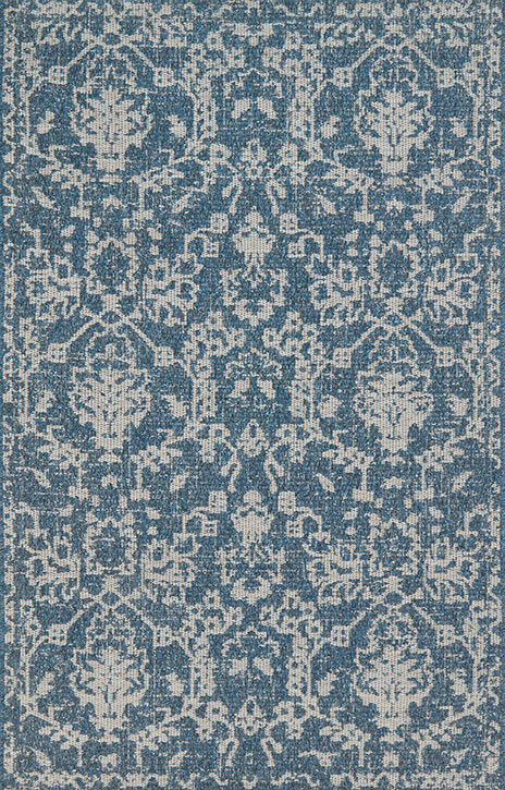 Warwick Wk 03 Azure Grey Area Rug Magnolia Home By