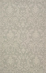 Warwick WK-03 Grey/Silver Area Rug - Magnolia Home By Joanna Gaines