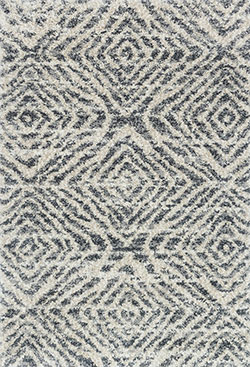 Loloi Quincy QC-01 Graphite/Sand Area Rug