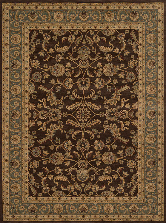 Loloi Stanley St 11 Brown Blue Area Rug Carpetmart