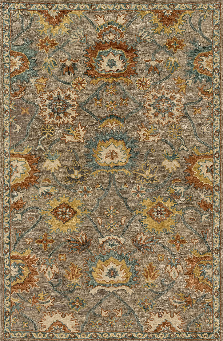 Loloi Underwood Un 01 Taupe Blue Area Rug Carpetmart Com