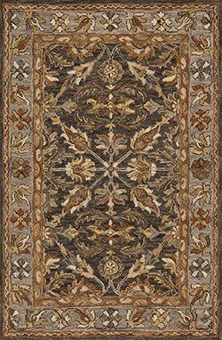 Loloi Victoria VK-06 Dk Taupe/Grey Area Rug