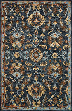 Loloi Victoria VK-14 Denim/Multi Area Rug