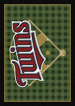 Milliken MLB Field Rug Minnesota Twins Area Rug