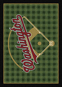 Milliken MLB Field Rug Washington Nationals Area Rug