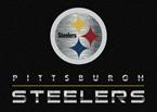 Milliken NFL Chrome Pittsburgh Steelers Area Rug
