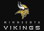 Milliken NFL Chrome Minnesota Vikings Area Rug