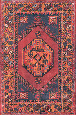 Momeni Afshar AFS-16 Red Area Rug